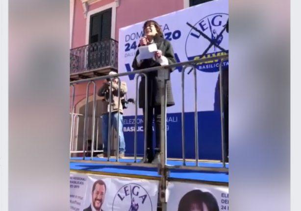 League candidate shouts 'I'm a fascist' at Italian rally
