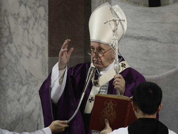 Pope Francis: Doping and corruption polluting sport