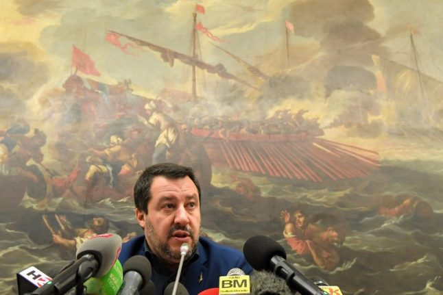 Italian senate votes to save Salvini from prosecution over rescued migrants