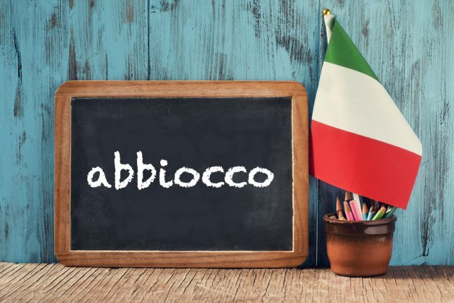 Italian word of the day: 'Abbiocco'