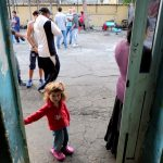 Rome relocates Roma families after mob protests outside shelter