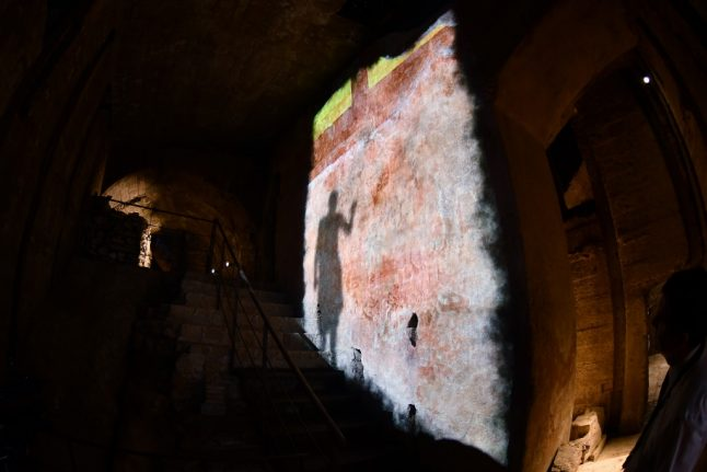 Nero's palace reopens to the public in Rome