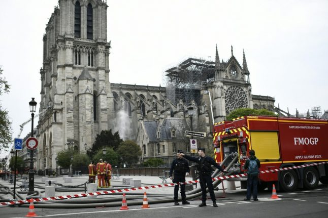 'Rise from the ashes': Italian theatre's touching message to Notre-Dame