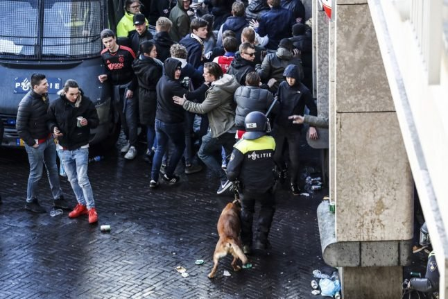 Juventus fans arrested for taking dangerous objects to Amsterdam match