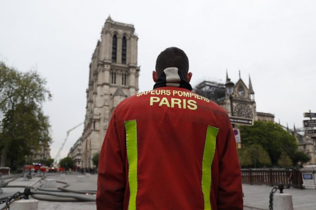 'Thank you for saving Notre-Dame': Pope Francis praises firefighters