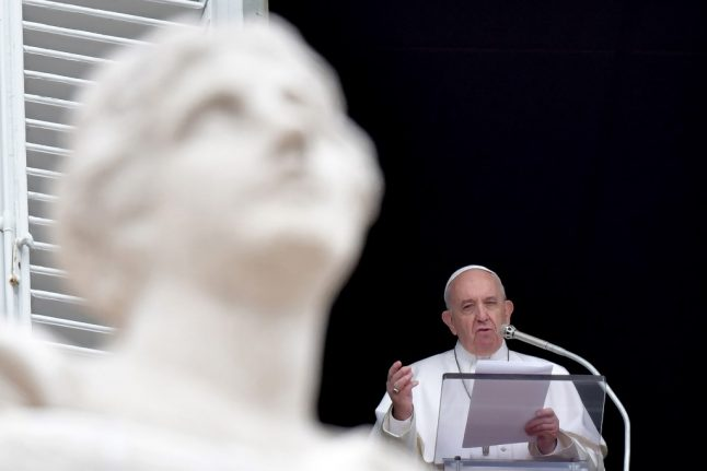 Pope appeals for evacuation of refugees in Libya camps