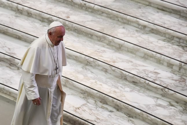 Pope condemns abortion as use of 'paid killer'