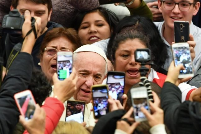 Pope issues new warning against fake news
