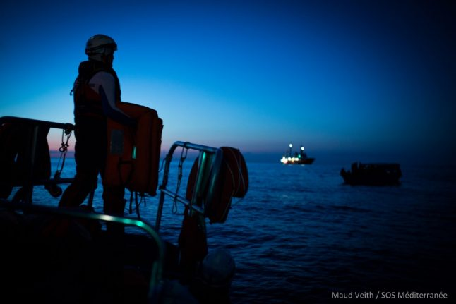'Closed ports'? Italy lets in 66 people rescued at sea
