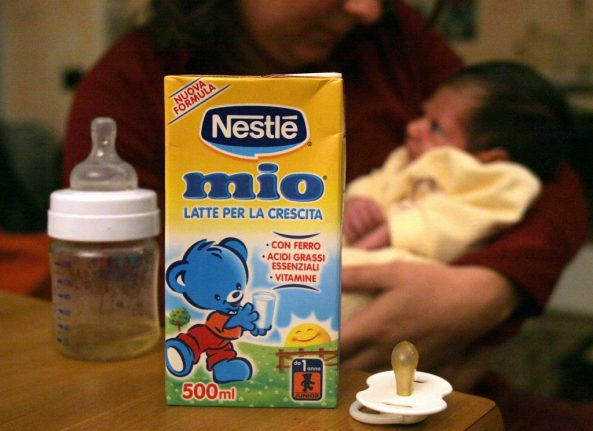 Bigger 'baby bonus' and tax breaks on nappies: How Italy plans to favour families