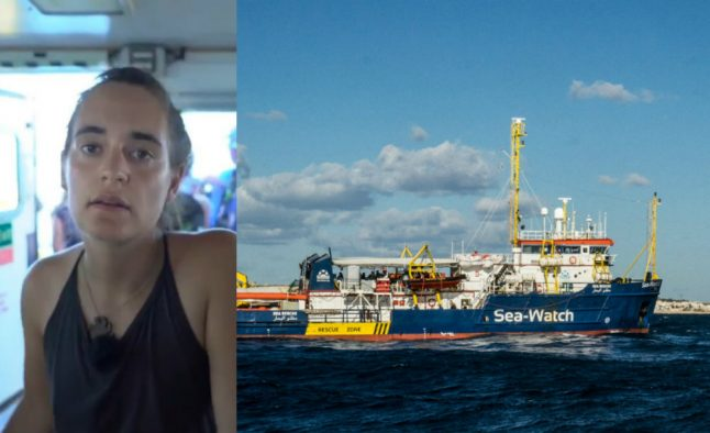 Migrant rescue ship captain faces jail time for landing migrants in Italy