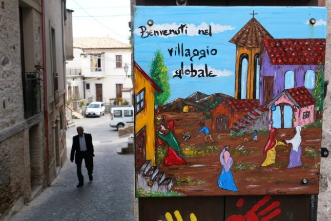 How Italy's migrant model town Riace veered far-right