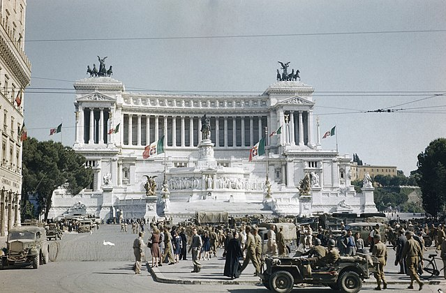 How an American spy helped liberate Rome, 75 years ago