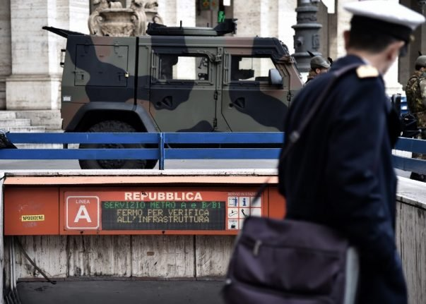 Rome's Repubblica metro station finally reopens after 8 months of repairs