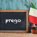 Italian word of the day: 'Prego'