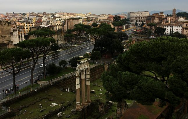 Gucci to restore ancient cliff Romans used to throw traitors off