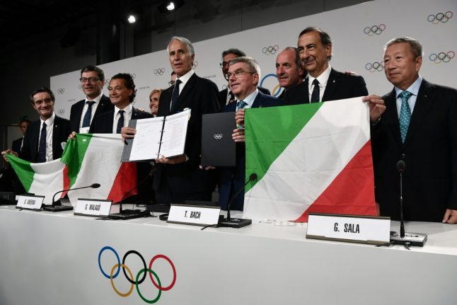 Winter Olympics will create 20,000 jobs in Italy, says government