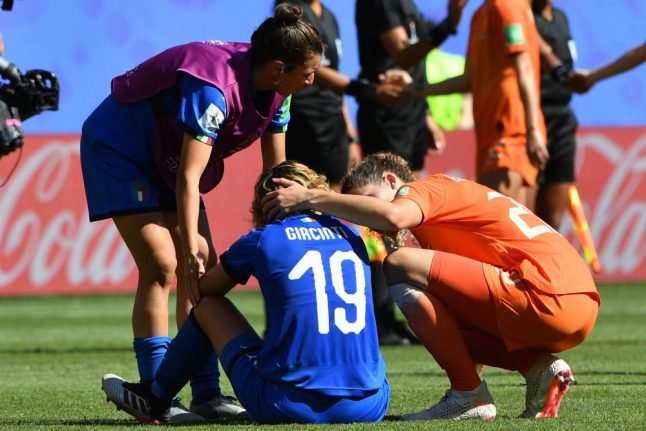 Italy lose out to Dutch in bid to reach World Cup semi-finals