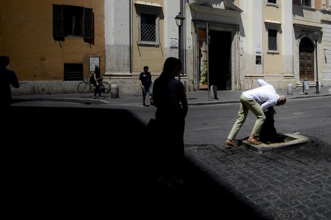 Italy braced for 'one of the hottest heatwaves in a decade'