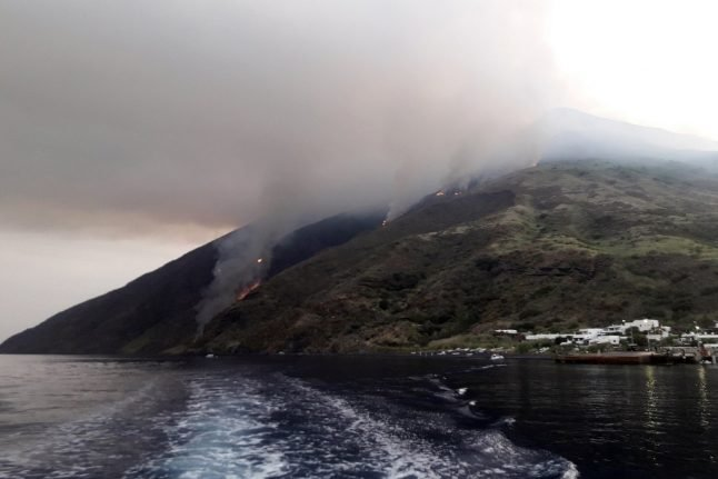 'Like being in hell': One dead after massive eruption of Italy's Stromboli volcano