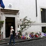 American suspect blindfolded during questioning over Italian policeman's murder