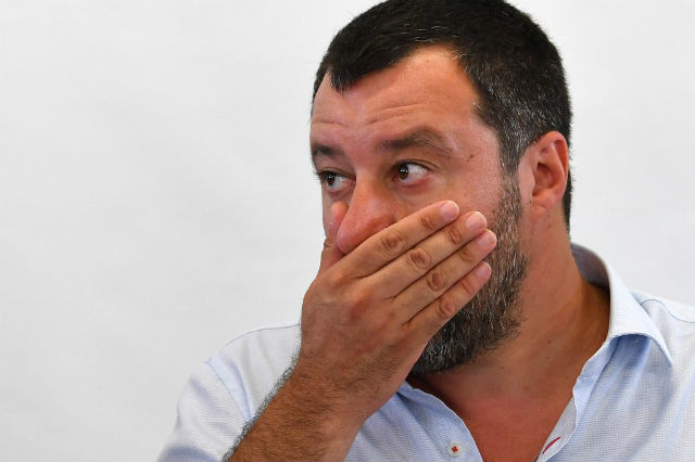 'Look for the rubles. Good luck': Salvini fends off Russia claims