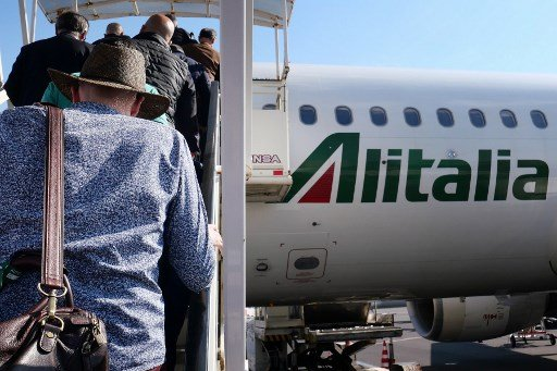 Friday's Italian airline strike has been delayed until September