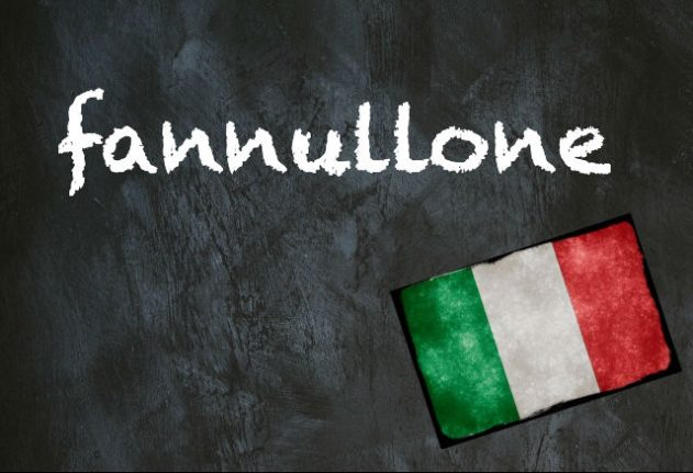 Italian word of the day: 'Fannullone'