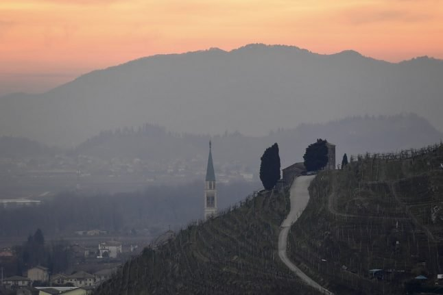 Italy's Prosecco hills added to Unesco's World Heritage list