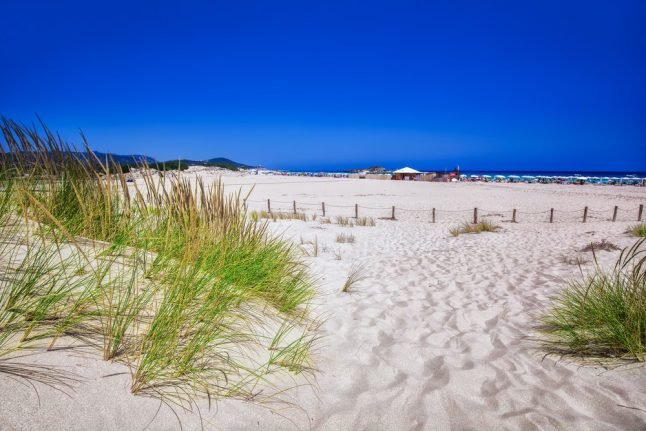 Tourists face jail after trying to take 40kg of Sardinia's sand home