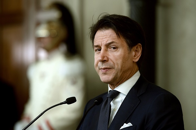 Giuseppe Conte says he will lead 'a more united' Italy after collapse of populist government