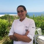 How life on a tiny Aeolian island inspired Italy's top female chef