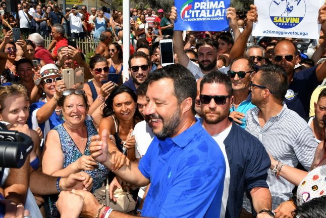Salvini could take Italy out of EU, former PM warns
