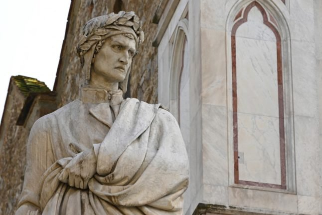 Five things to know about Dante on the 700th anniversary of his death