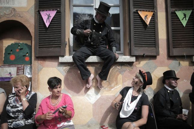 IN PHOTOS: Italy's annual chimney sweep festival