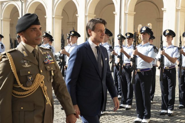 Giuseppe Conte promises to unveil Italy's new cabinet by Wednesday