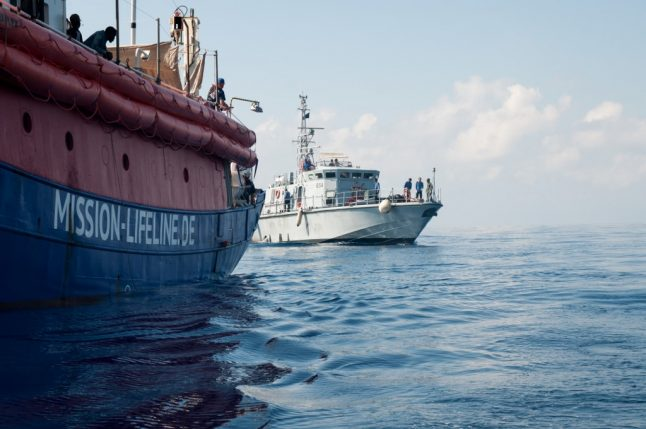 Italy seizes migrant rescue ship that defied ban and sailed to Sicily