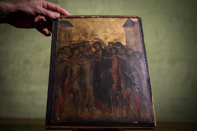 Rare Italian masterpiece found in French kitchen sold for €24 million