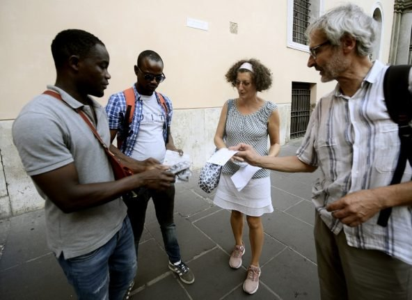 Rome's 'invisible' migrants offer alternative tourism guide to Eternal City