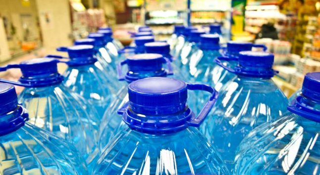 What is it with Italians and bottled water?
