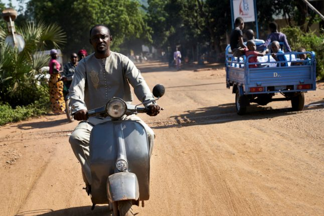 In Mali, love for Italy's vintage scooter is timeless