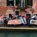 Venetians protest cruise ships and corruption after historic flooding