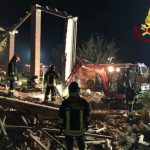 Three Italian firefighters killed in mystery explosion at abandoned farm