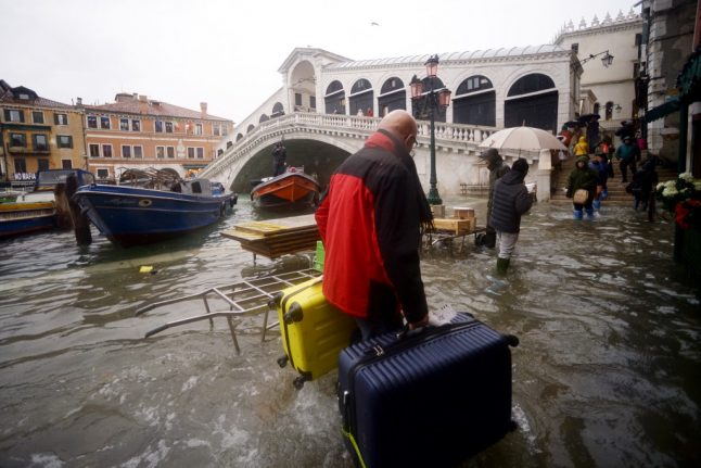 Inundated Venice braced for more flooding and strong winds on Saturday