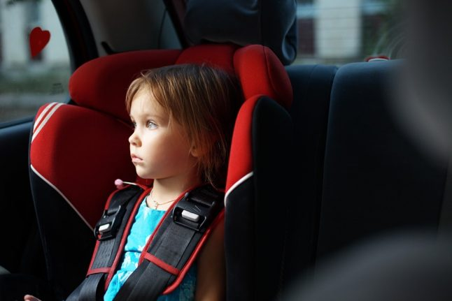 'Anti-abandonment' child car seats become compulsory in Italy