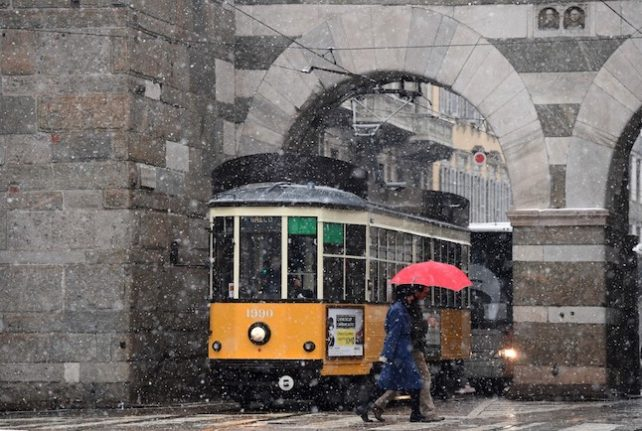 'Santa Lucia's storm' sweeps Italy with snow and gales