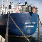 Two ships carrying rescued migrants dock in Italy