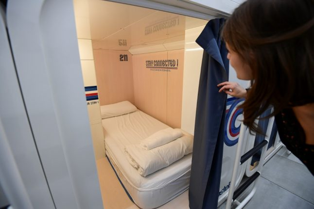 Cosy or coffin-like? Milan unveils Japanese-style capsule hotel to cope with tourism boom