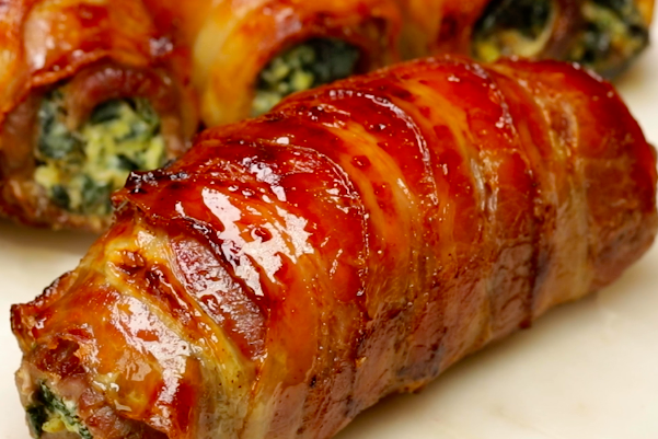Italian recipe of the week: Pancetta-wrapped spinach and ricotta involtini