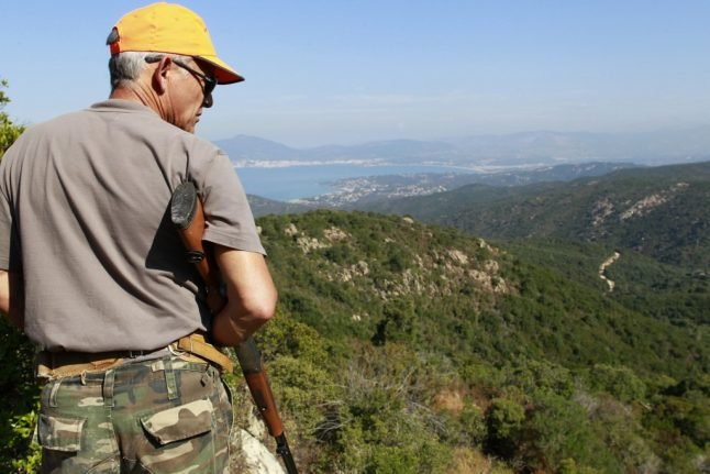 How dangerous is the Italian countryside during hunting season?